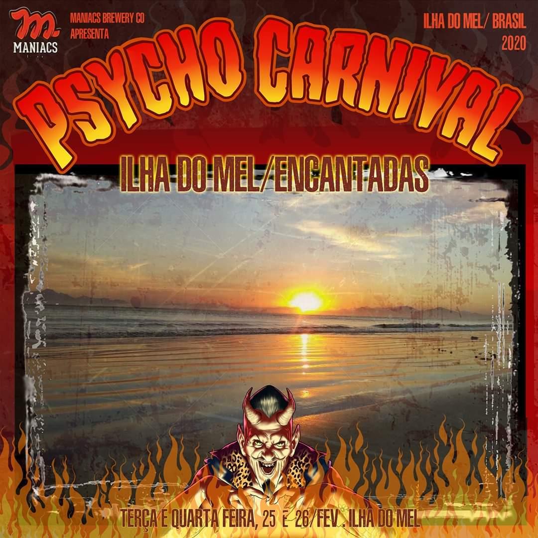 Programação Psycho Carnival