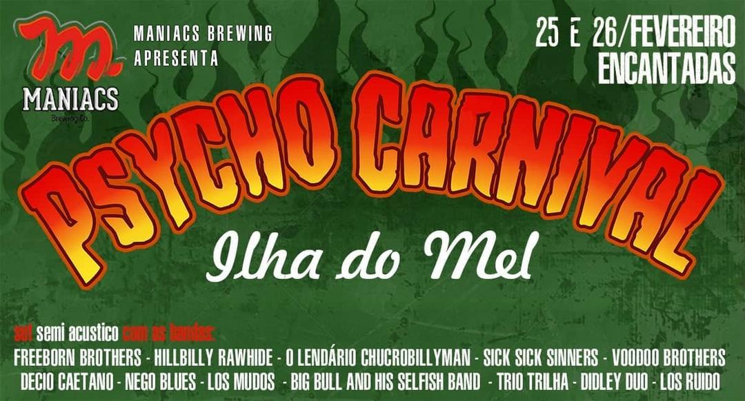 Está chegando o Psycho Carnival