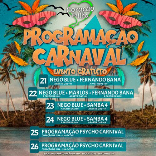 Carnaval na Ilha é só alegria!